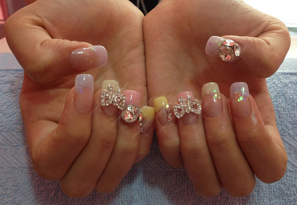 acrylic1 by CandiliciousNails