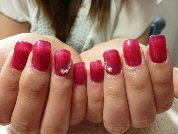 Michelle-Gel extension2 by CandiliciousNails