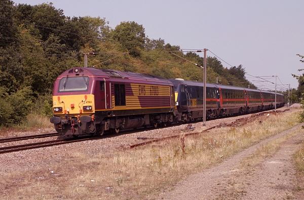 Class 67 by AlanHC22