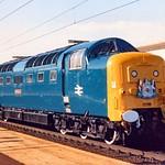 Class 55 Deltic BR era