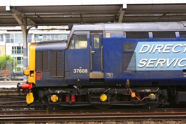 Class 37 DRS by AlanHC22