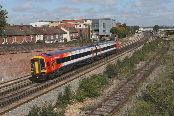 Class 158 by AlanHC22