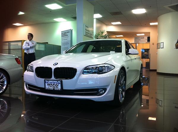 Irvine BMW F10 in Showroom by WesternRegionPics