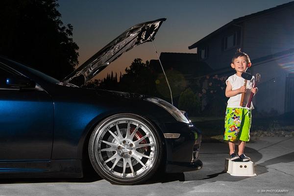Little mechanic for hire by Matt H