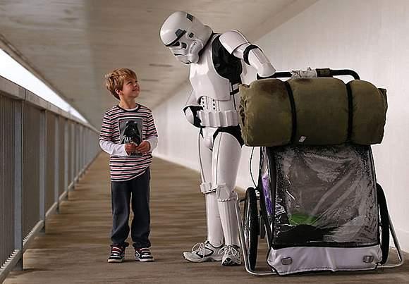 Man-Dressed-As-Stormtrooper-is-Walking-Across-1 222