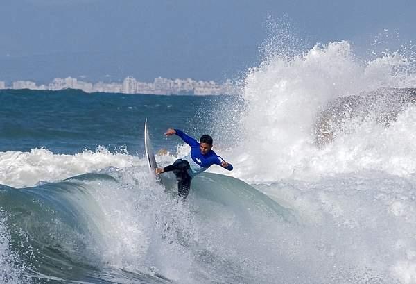 Surfing at Bat-Galim