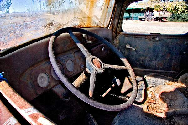 Old Chevy Interior 222