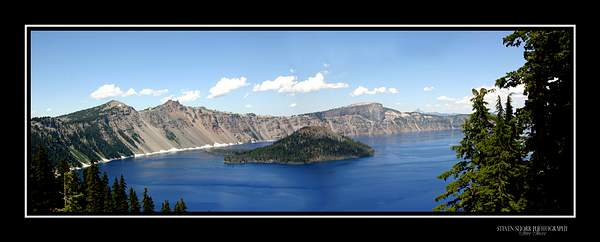 Crater Lake Panorama 222