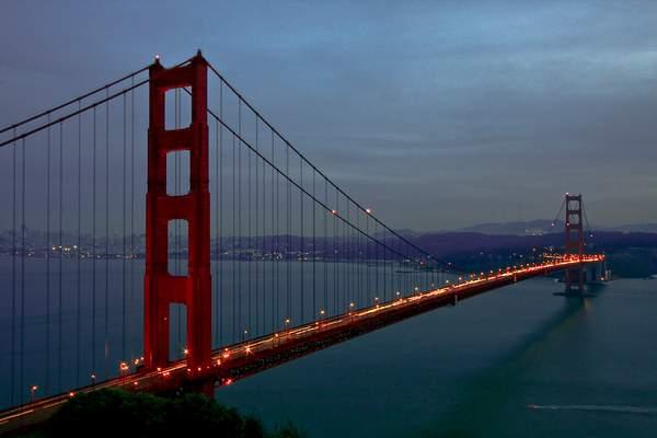 Golden Gate a Twilight 222