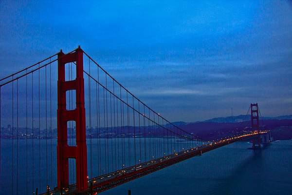 Golden Gate at Night 222