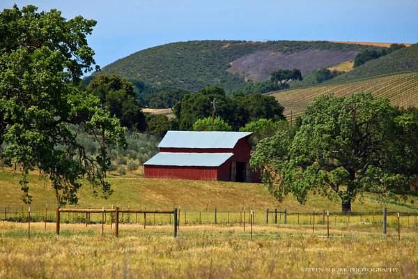 Red Barn in Ballard Canyon 222