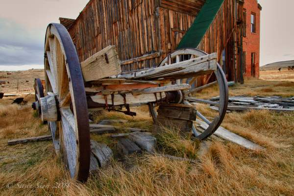 Old Wagon 2 Bodie-2010 HDR 222