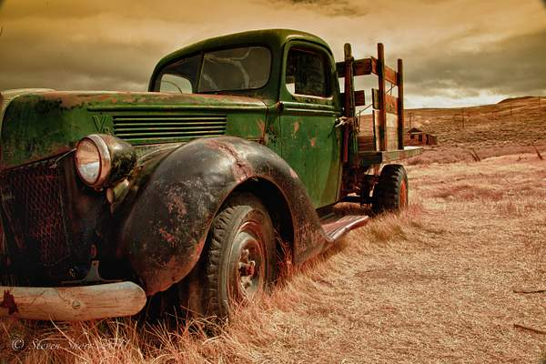 Old Truck Bodie-2010 HDR 222
