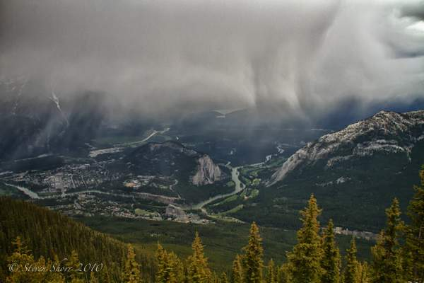 Banff View From Sulphur Mountain-1 222