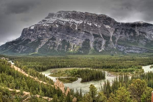 Banff Hoodoos 2 222