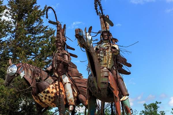 Guarding the Blackfeet Indian Reservation 222