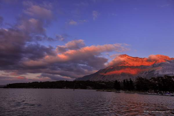 Sunset-Wateron Lake 222