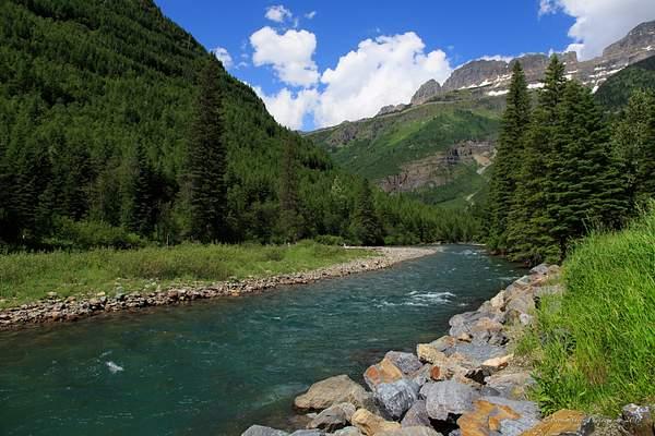 River Glacier National Park 222