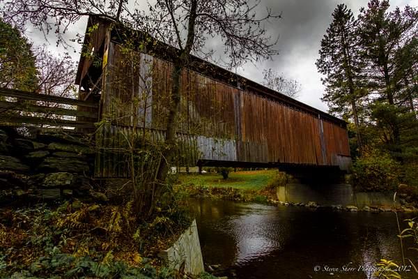 Covered Bridge Sherbrooke CANADA 222