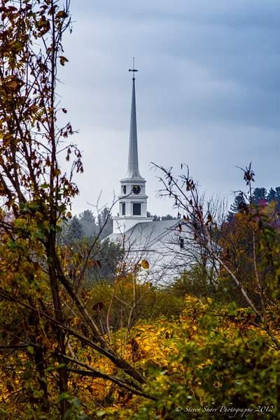 Stowe Church VT 222