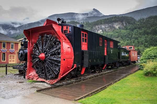 Snow Plow Engine 222