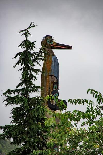 Totem in Ketchikan, Alaska 222