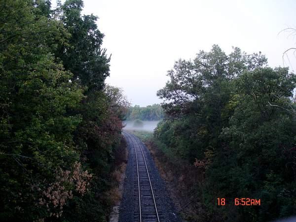 Foggy Rails 222