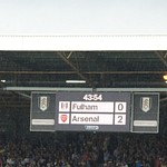 Fulham 1 v 3 Arsenal (24-08-2013)