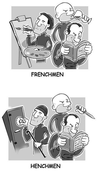 frenchmen-henchmen_wh by Ingapetrova