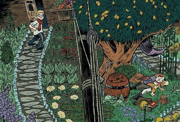 garden by Ingapetrova