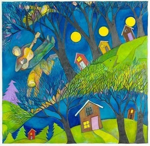 kids-in-moonlight-blog-art by Ingapetrova