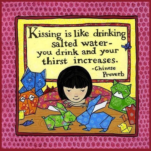 kissing_proverb