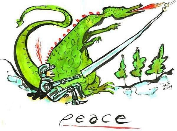 peace_dragon by Ingapetrova