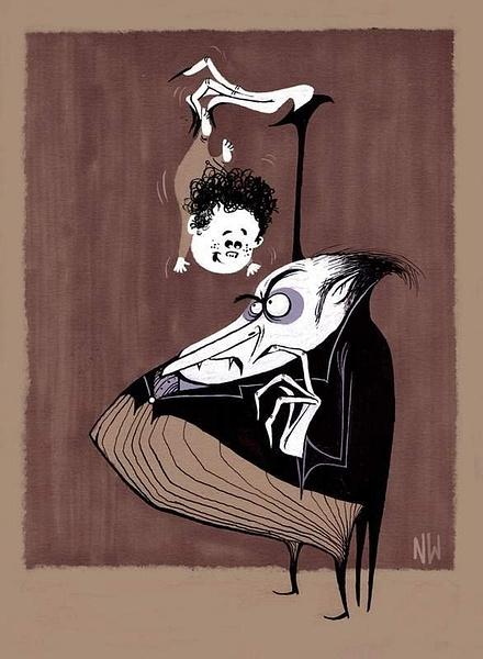 vampire by Ingapetrova
