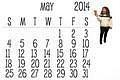 Calendar 2014 by LesleyLlamas