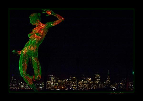 San-Francisco-by-night by Gino De  Grandis