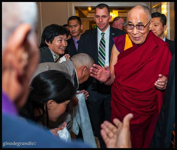 Dalai Lama by Gino De  Grandis