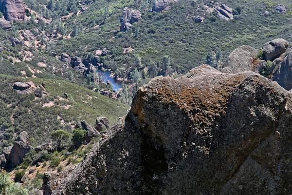 Small Lake Amid the Rocks 222