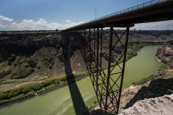Perrine Bridge No of Twin Falls 222