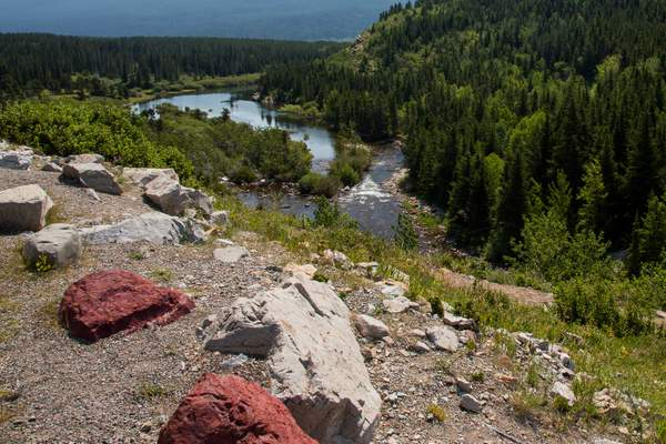 Water flow from Swiftcurrent Lake to Sherborne Lake.jpg 222