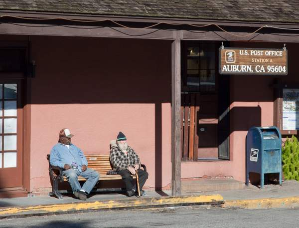 Old men and old Post Office 222