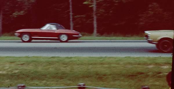 Corvette - Drag strip in Connecticuit in 1968 222