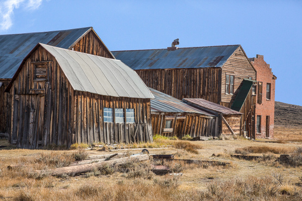 Bodie Ghost Town CA by Harrison Clark