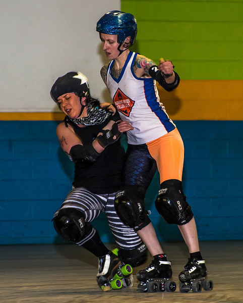 Roller Derby by MartinShook369