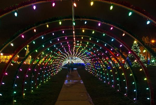 Xmas lights Strongsville 2015,16 by MartinShook369