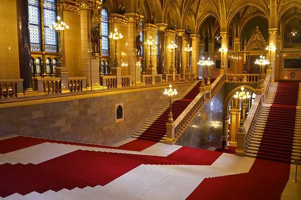 Parliament Building, Interior, Budapest