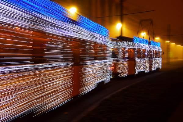 Christmas Tram, Budapest