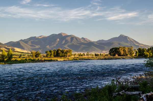 Paradise Valley - Montana - Jul '14 by Jack Carroll