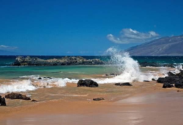 Beach at Kamaole Point, Maui, Hawaii