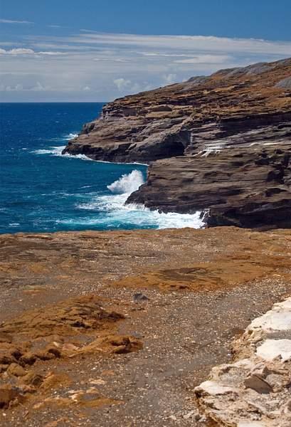 Coast Near Hanauma Bay, Oahu, Hawaii